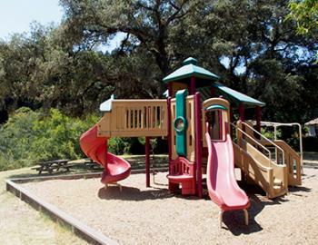 Playground in Monte Rio, CA